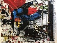 Batman Vs Superman 2016 Limited Edition Print by Mr. Brainwash - 3