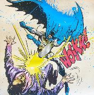 Bat Wockk 2019 Super Huge Embellished    Limited Edition Print by Mr. Brainwash - 0