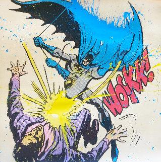 Bat Wockk 2019 Huge Embellished    Limited Edition Print - Mr. Brainwash
