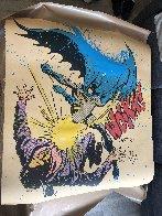 Bat Wockk 2019 Super Huge Embellished    Limited Edition Print by Mr. Brainwash - 1