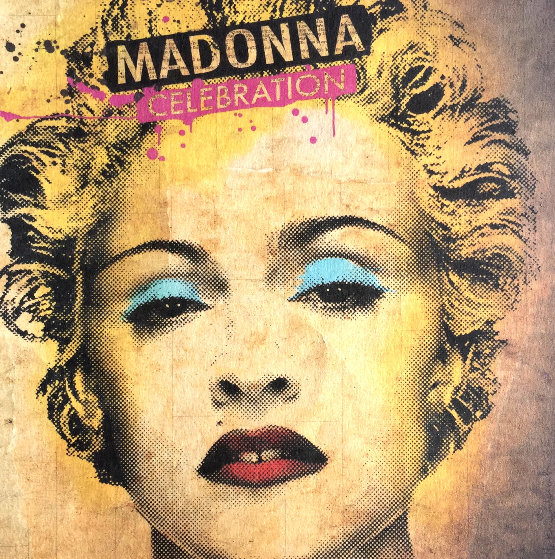 Madonna Celebration Album 2009 by Mr. Brainwash