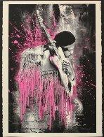 Jimi Hendrix (Pink) 2015 Limited Edition Print by Mr. Brainwash - 1
