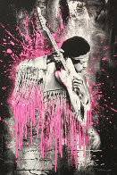 Jimi Hendrix (Pink) 2015 Limited Edition Print by Mr. Brainwash - 0