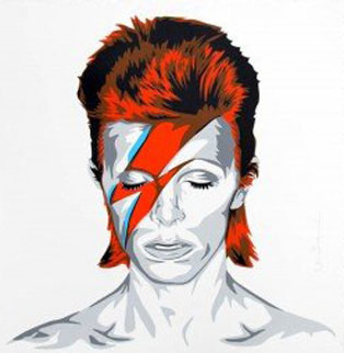 Bowie 2016 Limited Edition Print - Mr. Brainwash