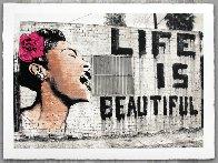 Billie is Beautiful  Limited Edition Print by Mr. Brainwash - 2