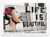 Billie is Beautiful  Limited Edition Print by Mr. Brainwash - 1