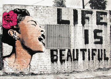 Billie is Beautiful  Limited Edition Print - Mr. Brainwash