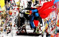 Batman vs Superman 2016 Limited Edition Print by Mr. Brainwash - 0