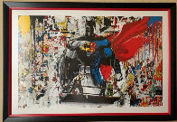 Batman vs Superman 2016 Limited Edition Print by Mr. Brainwash - 2