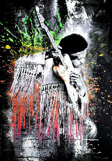 Jimi Hendrix 2015 Limited Edition Print - Mr. Brainwash