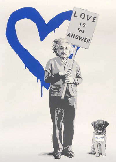 Love is the Answer 2012 Limited Edition Print by Mr. Brainwash