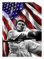 American Hero - Muhammad Ali 2019 Super Huge Limited Edition Print by Mr. Brainwash - 1
