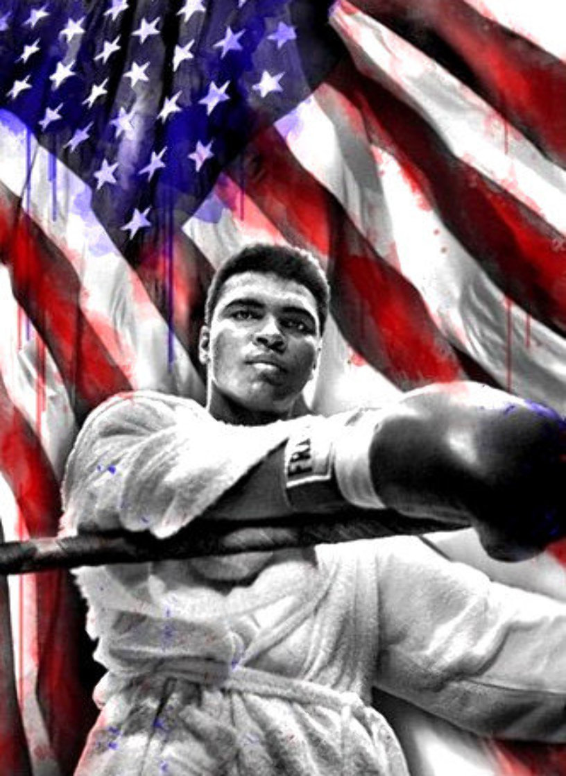 American Hero - Muhammad Ali 2019 Super Huge Limited Edition Print by Mr. Brainwash