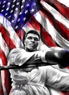 American Hero - Muhammad Ali 2019 Super Huge Limited Edition Print - Mr. Brainwash