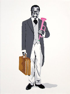 Too Louis AP Limited Edition Print by Mr. Brainwash