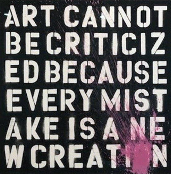Keep Creating 2011 Limited Edition Print by Mr. Brainwash