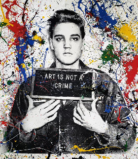 Jailhouse Pop (Multi-color Splash) 2019 Limited Edition Print - Mr. Brainwash