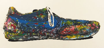 Blue Shoe 2010 Limited Edition Print - Mr. Brainwash
