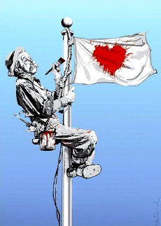 One Love 2011 Limited Edition Print by Mr. Brainwash