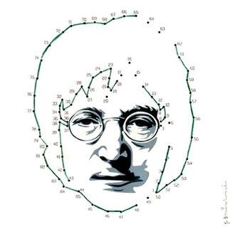 Connecting Lennon (Green) 2011 Limited Edition Print - Mr. Brainwash