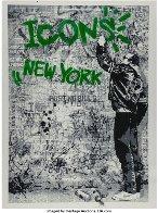 Wall (Green) 2009 Limited Edition Print by Mr. Brainwash - 1