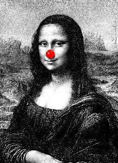 Mona Keep Smiling 2019 Limited Edition Print by Mr. Brainwash