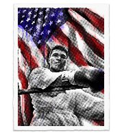 Ali American Hero 2019  Huge Limited Edition Print by Mr. Brainwash - 1