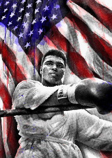 Ali American Hero 2019 Super Huge Limited Edition Print - Mr. Brainwash