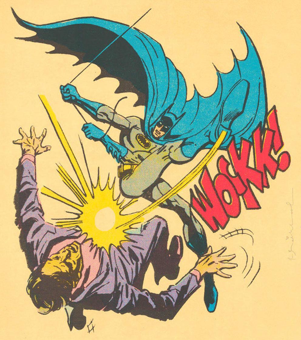 Bat-Wockk!   2019 Super Huge Limited Edition Print by Mr. Brainwash