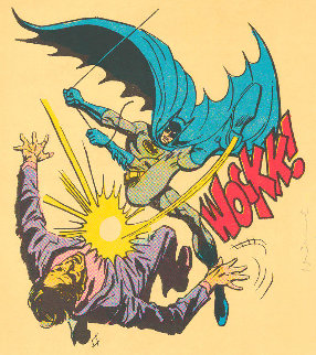 Bat-Wockk!   2019 Huge Limited Edition Print - Mr. Brainwash