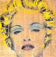 Madonna 2009 27x27 Original Painting by Mr. Brainwash - 0