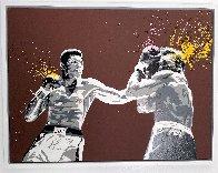 Muhammad Ali 2008 32x42 Huge Original Painting by Mr. Brainwash - 1