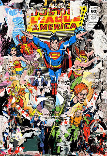 Hero (Justice League) PP 2017  Limited Edition Print - Mr. Brainwash