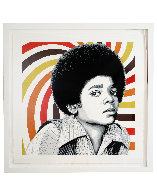 Rock With You 2013  Michael Jackson Limited Edition Print by Mr. Brainwash - 1