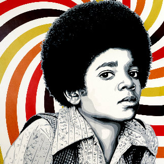 Rock With You 2013  Michael Jackson Limited Edition Print - Mr. Brainwash