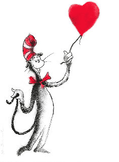 Cat And the Balloon Limited Edition Print - Mr. Brainwash