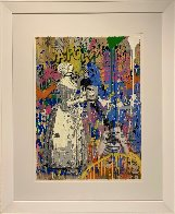 House Special Unique 2019 Embellished Works on Paper (not prints) by Mr. Brainwash - 1