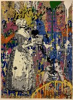 House Special Unique 2019 Embellished Works on Paper (not prints) by Mr. Brainwash - 2