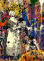 House Special Unique 2019 Embellished Works on Paper (not prints) by Mr. Brainwash - 0