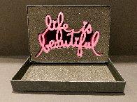 Life is Beautiful Resin Sculpture 2020 9 in Sculpture by Mr. Brainwash - 3