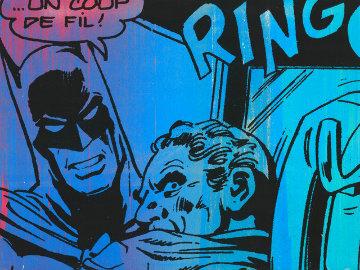 Bat Call Unique 2012 22x30 Works on Paper (not prints) - Mr. Brainwash