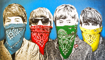 Beatles Bandidos 2012 Limited Edition Print - Mr. Brainwash