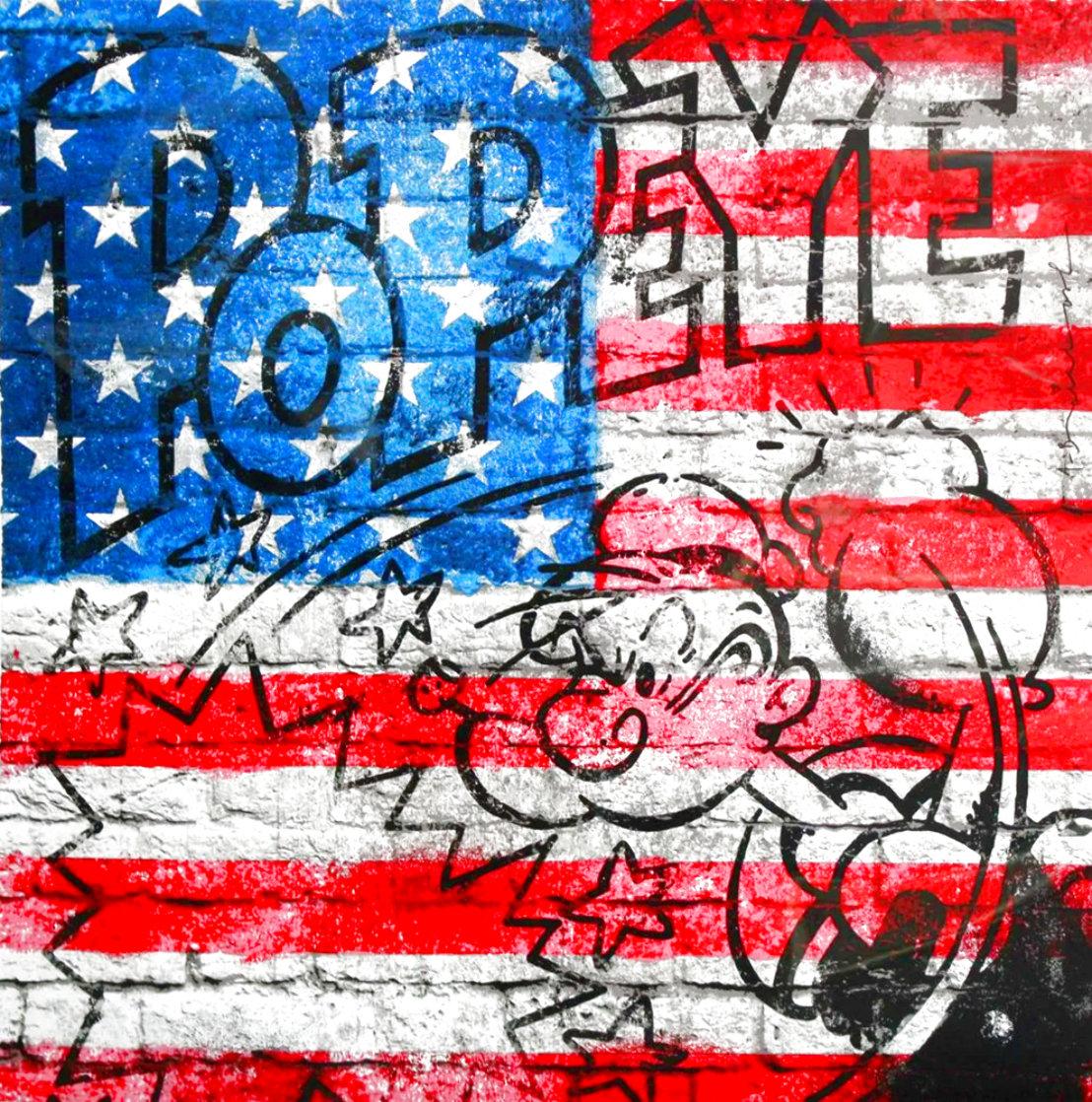 Popeye AP 2019 Limited Edition Print by Mr. Brainwash