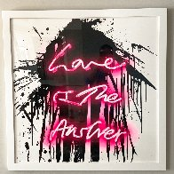 Love On 2018 Limited Edition Print by Mr. Brainwash - 1
