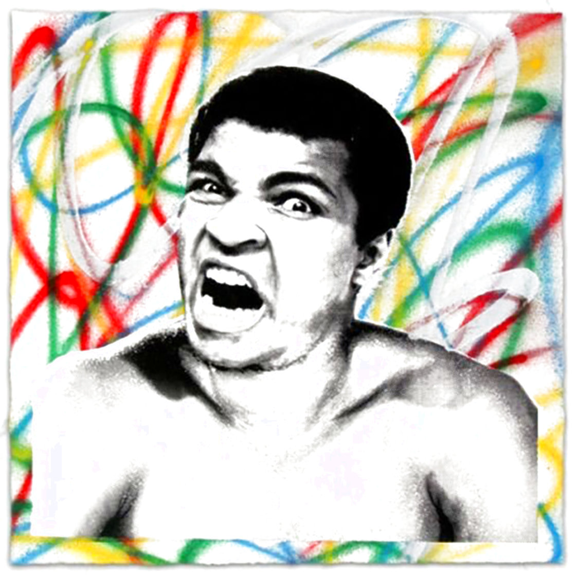 Legendary Ali 2017 Limited Edition Print by Mr. Brainwash