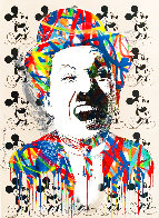 Charlie 2015 30x22 Unique Works on Paper (not prints) by Mr. Brainwash - 0
