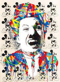 Charlie 2015 30x22 Unique Works on Paper (not prints) - Mr. Brainwash