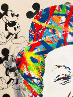 Charlie 2015 30x22 Unique Works on Paper (not prints) by Mr. Brainwash - 2