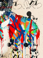 Charlie 2015 30x22 Unique Works on Paper (not prints) by Mr. Brainwash - 3