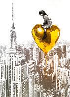 Big City, Big Dreams (Gold) 2020  Huge (New York) Limited Edition Print by Mr. Brainwash - 0